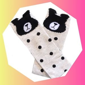 Other - Sleepy Bear Knee High Socks NWT